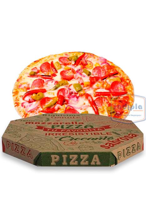 Caja para pizza mediana