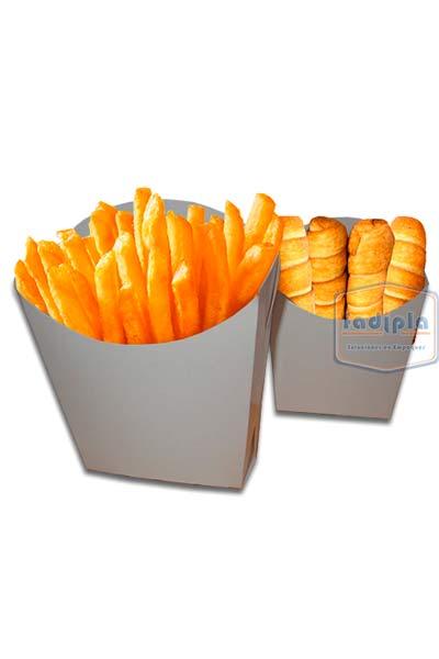 porta papas fritas y tequeños