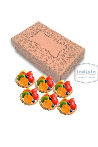 caja para seis dulces